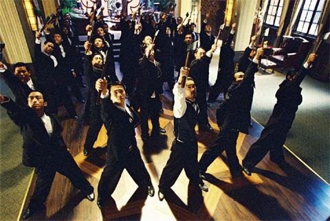 Kung Fu Hustle, 2004 Arahan Stephen Chow.