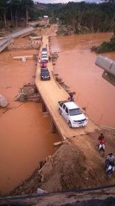 Jambatan sementara yang menghubungi Gua Musang - Jeli akan dibuka penghujung Mei ini