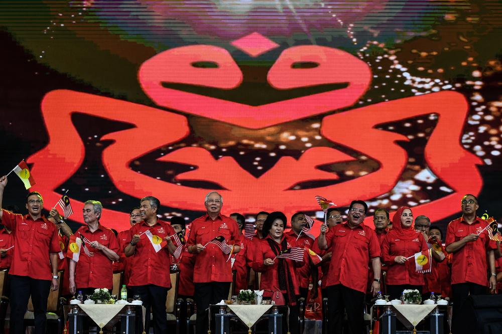 Suara UMNO penuhangkuh